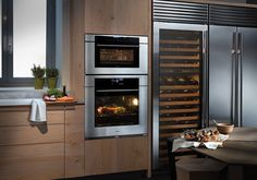 Steam ovens are the best cooking products to retain your food Cooking Supplies, Cooking Equipment, Oven Cooking, Oven Racks, French Door Refrigerator, French Door Oven, Food Preparation, Kitchen Design, Oven Design