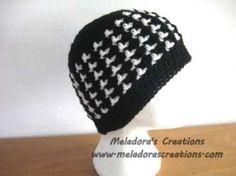 Two Tone Crochet Beanie
