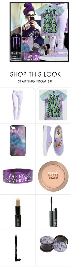 """""""Thermacare - Chiodos"""" by asdfghjkl-nevaeh ❤ liked on Polyvore featuring TEXTILE Elizabeth and James, Wet Seal, Vans, Hot Topic, Maybelline, Lord & Berry, NARS Cosmetics and Givenchy"""