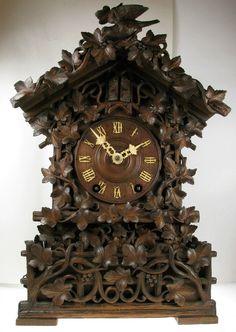 97 Best Antique Black Forest Clocks Images On Pinterest Black