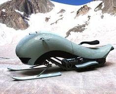 Hima Snowmobile, vehicle, Lee Gicas, snow, speed, aerodymanic, future, concept, tech, futuristic by FuturisticNews.com