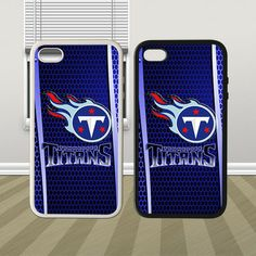 NFL Tennessee Titans Style Cool Hybrid iPhone 4 4s 5 5s 5c Case Cover Hard