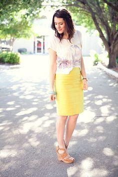 i like that skirt