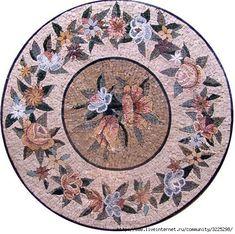 Делаю подборку мозаичных панно