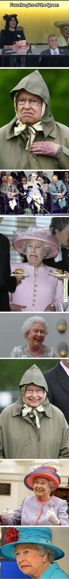 Funniest Memes - shows that queens do not have to be all that proper