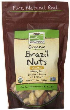 Now Foods Brazil Nuts, Certified Organic, Raw - 10 oz