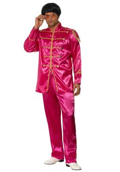 Pink Sgt Pepper Beatles Costume