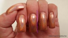 Glittery Fingers & Sparkling Toes: TIOT: Studio M Sunrise Canyon