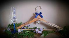 #wedding #weddinghangers #bridalhangers #personalisedhangers #bridesmaidgifts #bridesfreewhenyoubuy3ormore #flowergirlhangers #customisedbysharon #madewithlove #champagneflutes #glitterglasses #royalblue www.facebook.com/customisedbysharon www.etsy.com/shop/customisedbysharon www.customised-by-sharon.co.uk