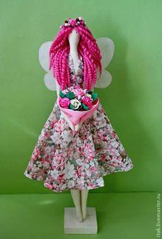 Куклы Тильды ручной работы. Ярмарка Мастеров - ручная работа Фея  роз. Handmade.
