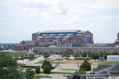 Another distant view of Lucas Oil Stadium Lucas Oil Stadium, Photograph, Exterior, Mansions, House Styles, Pictures, Fotografie, Mansion Houses, Villas