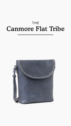 Always ready for your next adventure, our Canmore Flat is perfectly sized to carry your everyday essentials. Handcrafted in Canada, this bag features a front flap with a hidden magnet closure, an interior zipper pocket and slip pocket, and an adjustable shoulder strap. Shoulder Strap, Essentials, Canada, Closure, Zipper, Flats, Pocket, Adventure, Bag