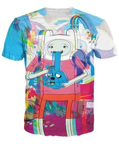 Finn hits Jake [Adventure Time] Available at My Yutes