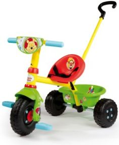 Sturdy tricycle in the ever-popular Winnie the Pooh design for children from 15 months of age. http://www.mytoys.com/Smoby-Be-Fun-Winnie-the-Pooh-Tricycle/Winnie-the-Pooh-Toys/Winnie-the-Pooh/KID/com-mt.lc.lc01.16.04/2192029