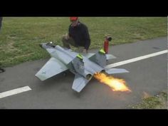 remote controlled flying jet = takes off and lands = france = Jet RC BIG 29 HD - YouTube