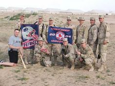 Red Sox Nation in Iraq in 2004.  We owe those guys!