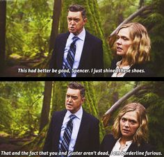 That and The fact that you and Guster aren't dead. I'm borderline furious. #psych
