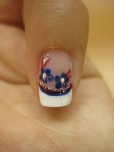 4th Of July Nail Designs | Health & Beauty » 4th of July Nail Design #1