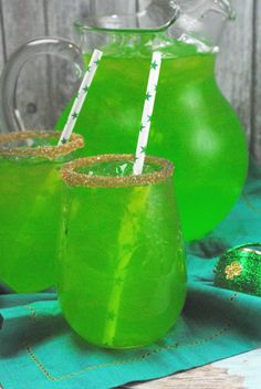 St. Patricks Day Punch, Nonalcoholic, great for kids