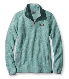 Women's Bean's Sweater Fleece Pullover | Free Shipping at L.L.Bean