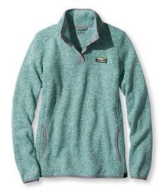 Women's Bean's Sweater Fleece Pullover | Free Shipping at L.L.Bean