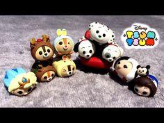 Toutes les créations Fimo du Swap pour Tsum Tsum France ! - YouTube