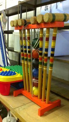Vintage croquet set