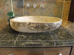 vessel sink Earthy Bathroom, Vessel Sink, Bathtub, Standing Bath, Bath Tub, Sink, Bathtubs, Tub