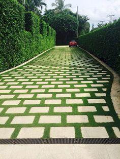 39 ideas backyard garden design yard landscaping driveways for 2019 Driveway Design, Yard Design, Amazing Gardens, Beautiful Gardens, Diy Jardin, Front Yard Landscaping, Landscaping Ideas, Backyard Ideas, Privacy Landscaping