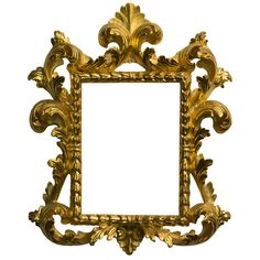 MASELLI Handmade Wood And Gold Frame found on Polyvore
