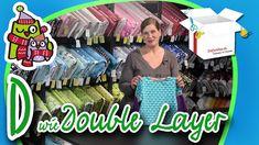 Double Layer | Nählexikon A-Z #4 | Nähschule Anleitung Nähen lernen für ...