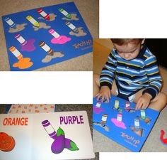 Learning colors with Teach My Toddler