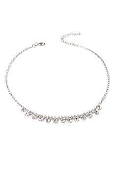 Rhinestone Bib Necklace | FOREVER21 - 1052289767