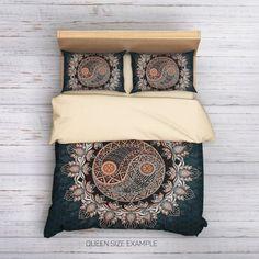 Yin Yang Bedding | Boho Chic Bedding | Sacred Bedding | GoodArtShop