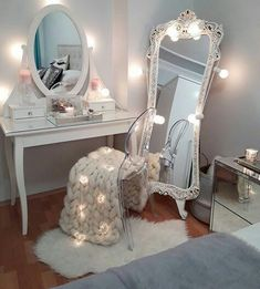 Image in home sweet home collection by Dreaminclassy Girls Bedroom, Bedroom Decor, Bedrooms, Decor Room, Bedroom Ideas, Sweet Home Collection, Home And Deco, Beauty Room, Dream Rooms