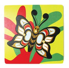 butterfly+coast+salish | butterfly peg puzzle kwakwaka wakw design $ 7 95 view cart butterfly ...