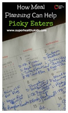 MEAL PLANNING - How