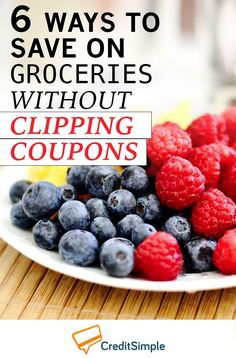 I always thought you had to clip coupons to save money on groceries. It's great to see other ways to save on groceries. Thanks!