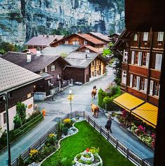 Gimmelwald, Gimmelwald, Switzerland - A house in the charming...