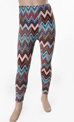 Girls Fleece Lined Print Leggings only $10!