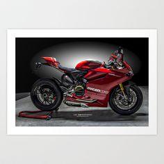 Ducati 1199 Panigale R Art Print by Elias Silva Photography - $16.00