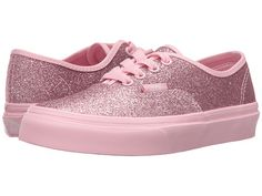 00535b6030 Vans kids authentic little kid big kid shimmer bright pink