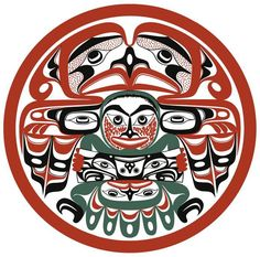 """Uu-Shtuc-Yuu"" (2002) by Art Thompson (Nuu-chah-nulth, 1948-2003)"
