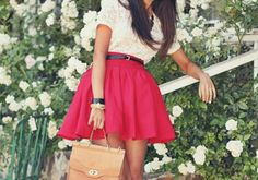 Another great high-waisted skirt