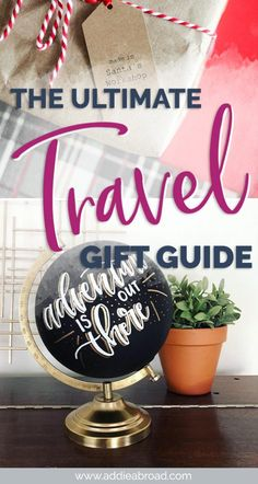 Looking for great travel gifts for her? This gift guide has all of the best practical and silly travel gifts, gifts for her home, and more! Travel Advice, Travel Guides, Travel Tips, Travel Abroad, Budget Travel, Travel Destinations, Best Travel Gifts, Best Gifts, Travel Gadgets