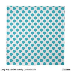 Deep Aqua Polka Dots Duvet Cover Available on many products! Hit the 'available on' tab near the product description to see them all! Thanks for looking!  @zazzle #art #polka #dots #shop #home #decor #bathroom #bedroom #bath #bed #duvet #cover #shower #curtain #pillow #case #apartment #decorate #accessory #accessories #fashion #style #women #men #shopping #buy #sale #gift #idea #fun #sweet #cool #neat #modern #chic #blue #aqua #light #dark #white