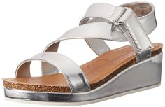 Jessica Simpson Maren Wedge (Little Kid/Big Kid) * Additional details at the pin image, click it  : Girls sandals