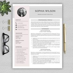 Resume Template / CV by Pro. Cv Cover Letter, Cover Letter Example, Cover Letter Template, Letter Templates, Template Cv, Modern Resume Template, Resume Templates, Design Templates, Microsoft Word