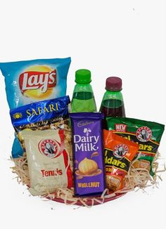 South Africa Snack & Gift Hampers for all occasions. Whether you are looking for luxury or budget, our flower shops have what you are looking for. Snack Platter, Snack Recipes, Snacks, Gift Hampers, Plush Dolls, Pop Tarts, Gift Delivery, Chips, Flowers