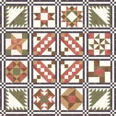 Installment Number 12 for Memory Lane Block of the Month Quilt